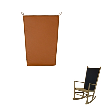 J16 rocking chair seat cushion in Basic Select Leather