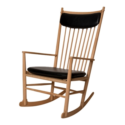Seat and Neck pillow J16 rocking chair
